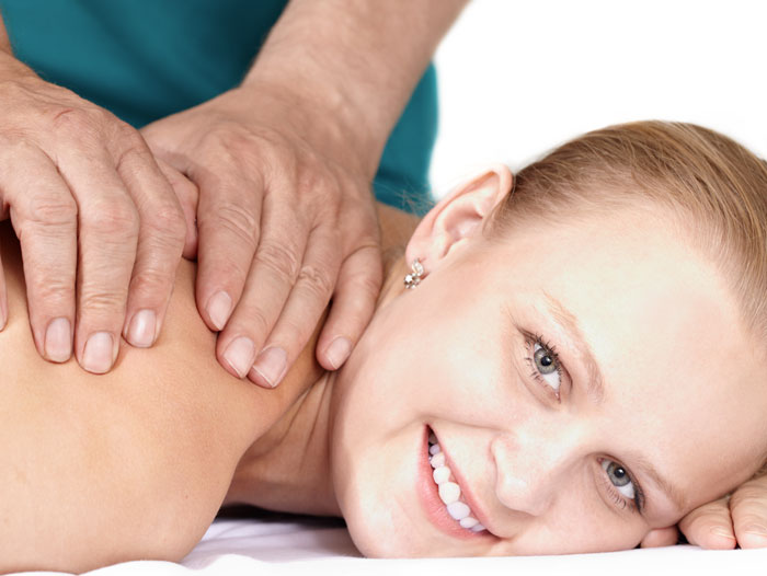 Lettino per fare i massaggi