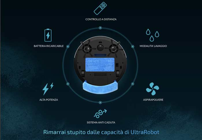 Caratteristiche di UltraRobot