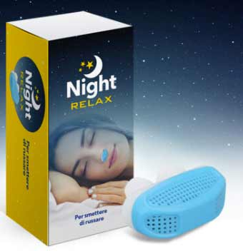 Night Relax dispositivo antirussamento