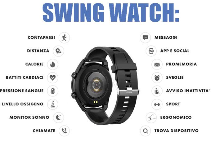 Funzioni di Swing Watch