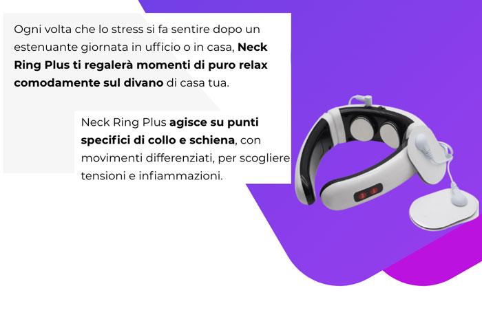 caratteristiche di Neck Ring Plus