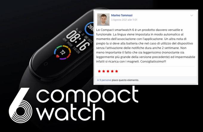 opinioni su 6 Compact Watch