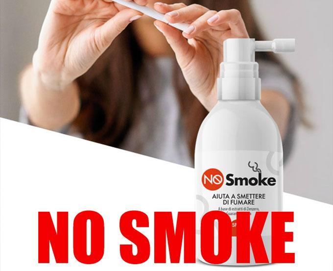 Spray No Smoke per smettere di fumare