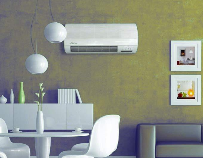 termoventilatore da parete ceramico