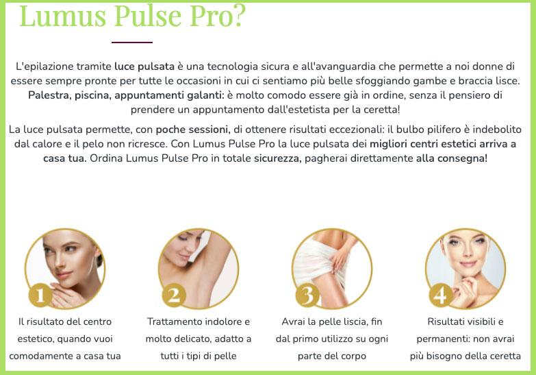 Come funziona Lumus Pulse Pro
