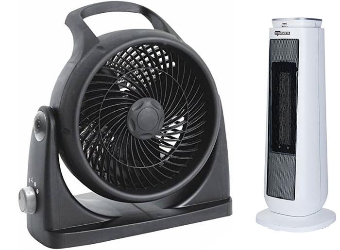 termoventilatore basso consumo